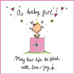 a baby girl