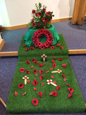 Remembrance Day at High Cross