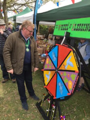 Cllr Andy Woolley on our Wheel of Blessings