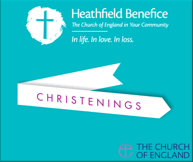 Christenings in Heathfield Benefice