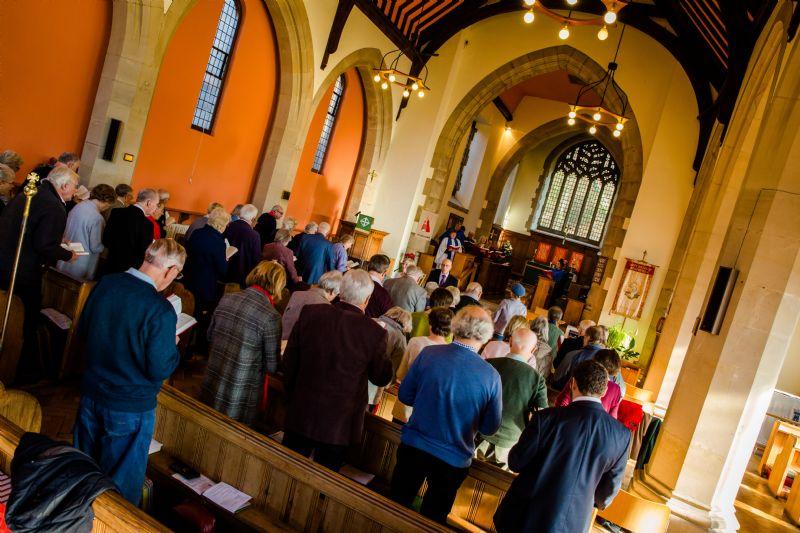 Benefice Service in St Richard's Church