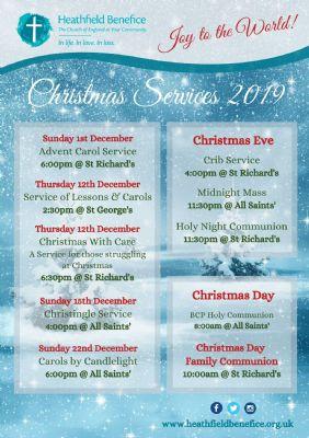 Christmas Service List