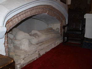 Tomb in Lady Chapel