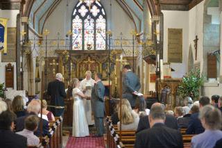 vicki wedding