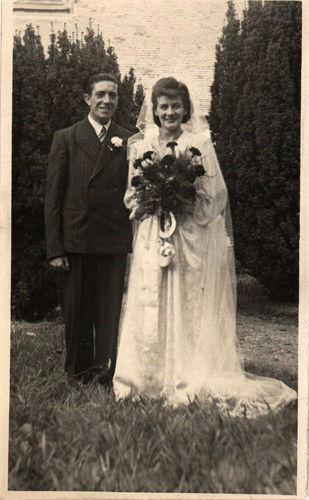 wedding circa 1944