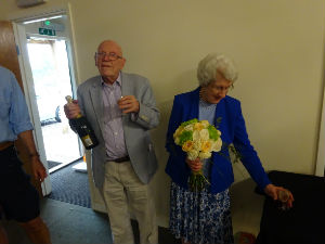 Michael  Ann enjoyed their 60th Wedding Anniversary