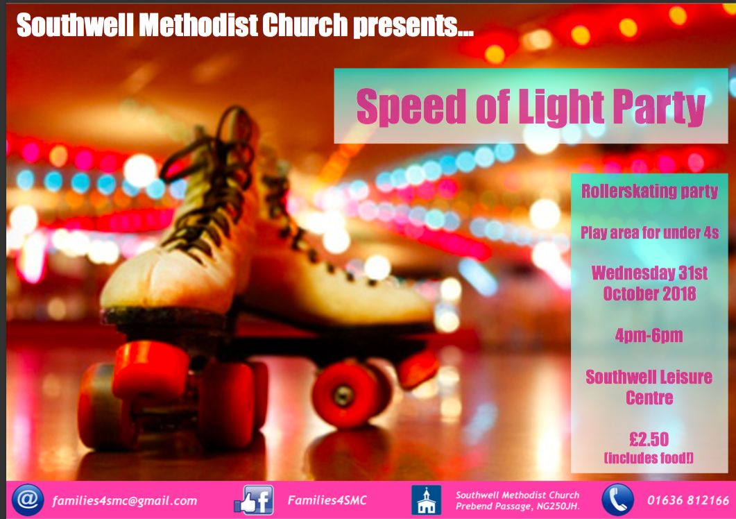 Speed of light party