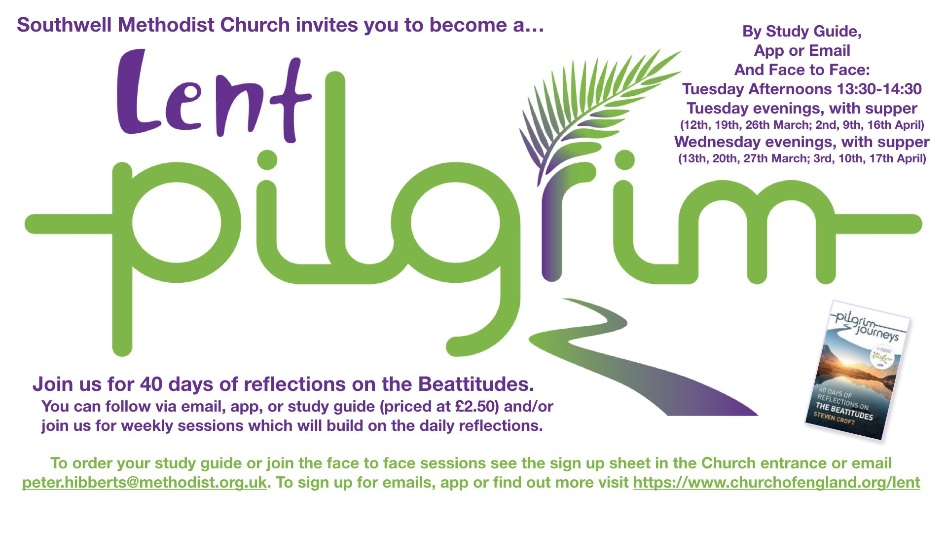 Lent Pilgrim