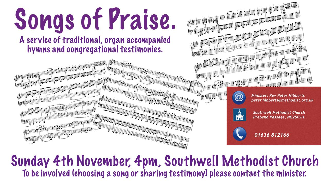November Songs of Praise