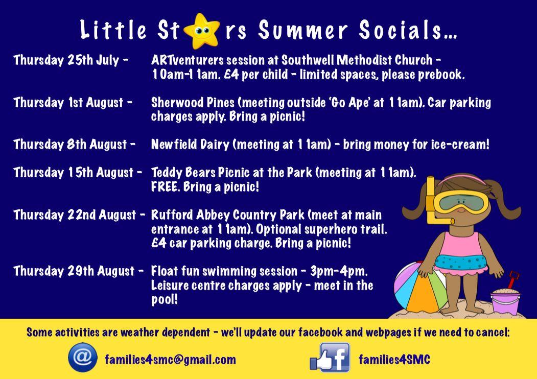 Summer socials