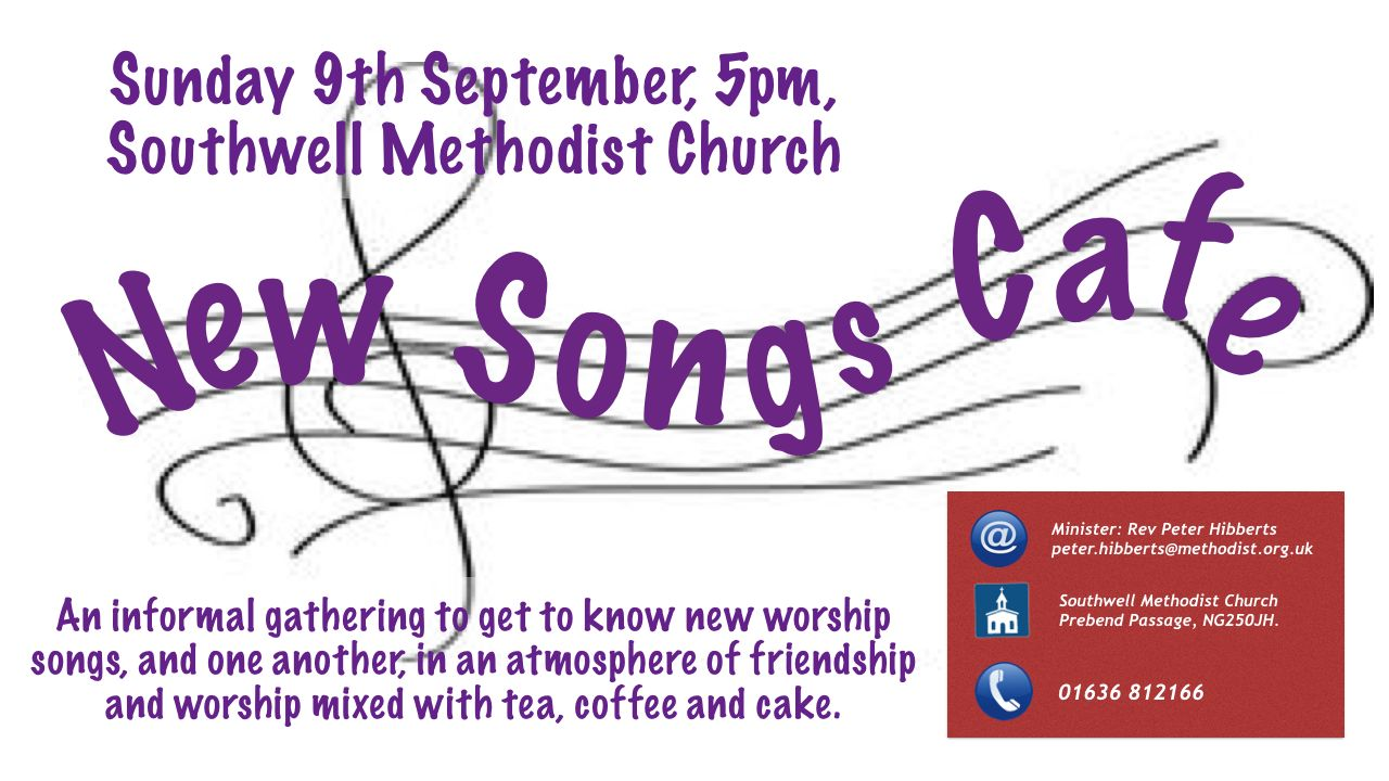 September News Songs Cafe
