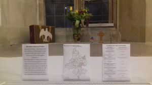 Abingdon Deanery prayer station