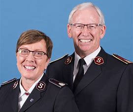 Photo of General Brian and Commissioner Rosalie Peddle