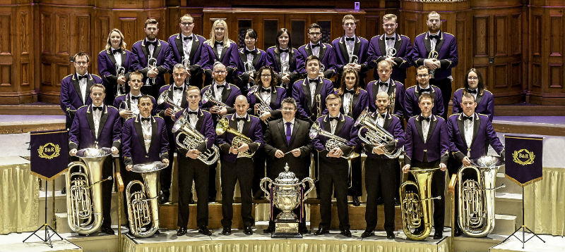 Formal picture of Brighouse  Rastrick Band