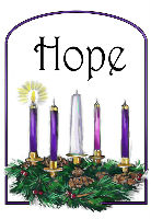 1st Sunday Advent candles