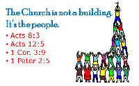 Church is no the building its the people