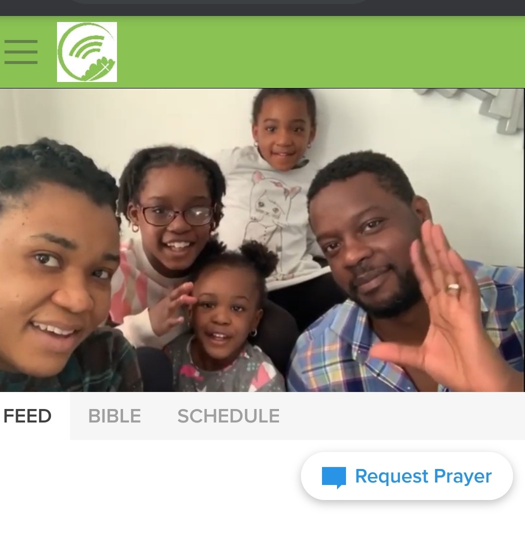 Our Church online platform