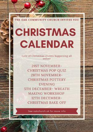Christmas calendar image