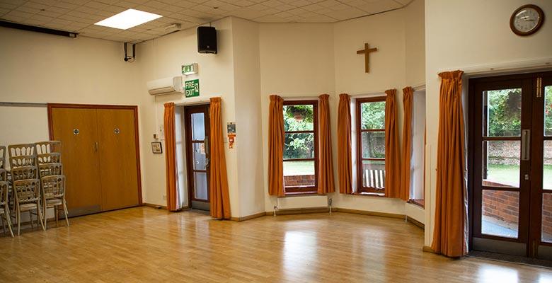 Hall empty