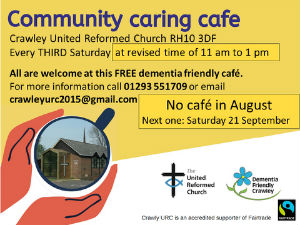Community Cafe from August 2019