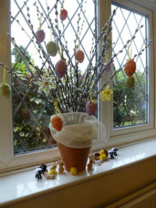 easter window 3