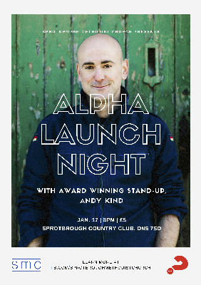 Alpha Launch Poster