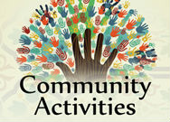 community activities with hands