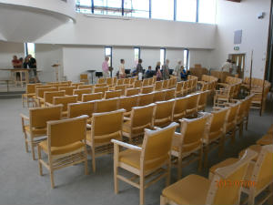 Worship Area - Following the Guid
