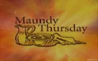 Images - Maundy Thursday