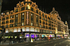 Images Christmas lights harrods 3