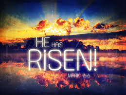 Easter image - he has risen 3