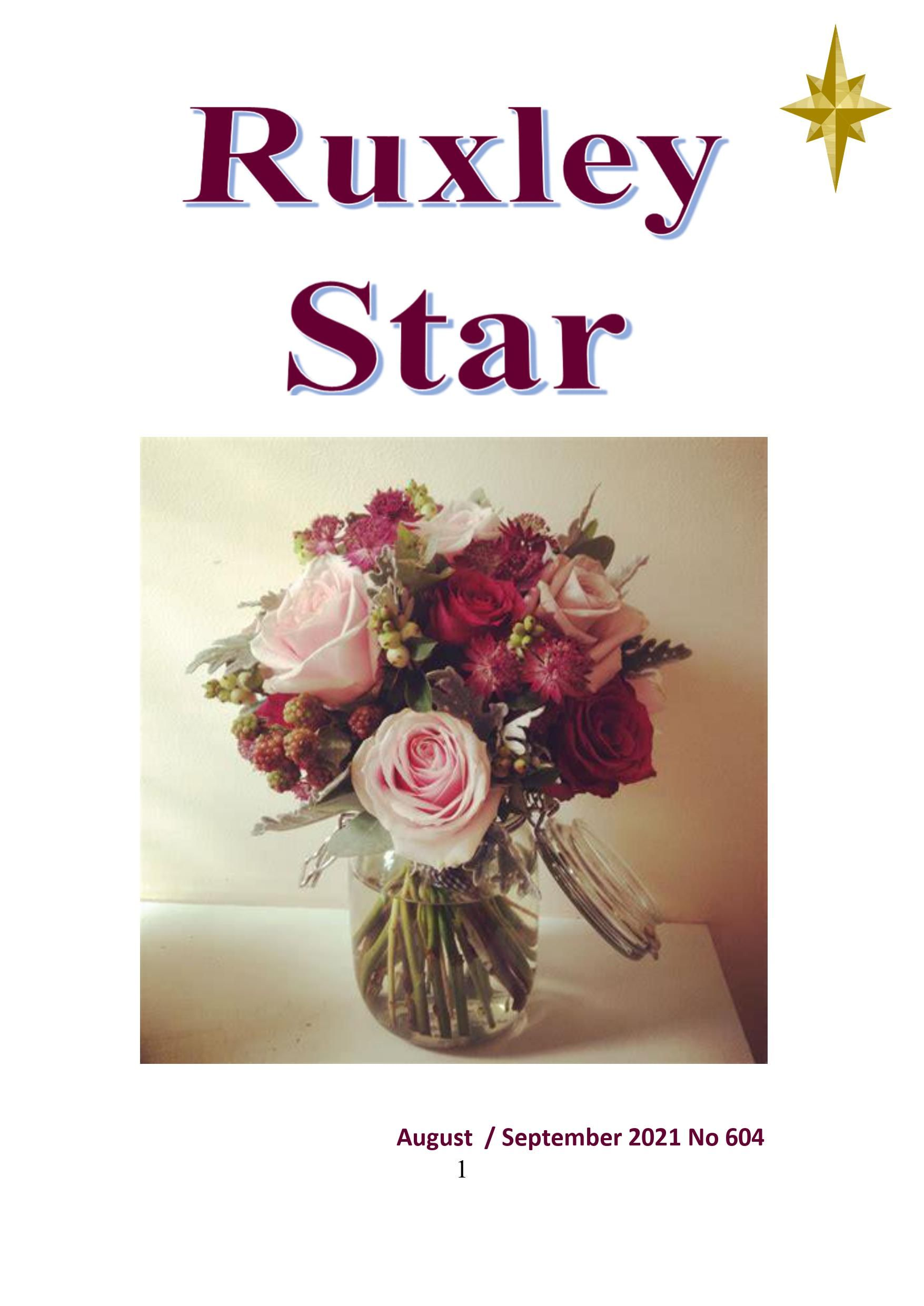 Cover of Ruxley Star August and September 2021