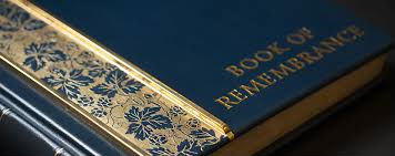 book of remembance
