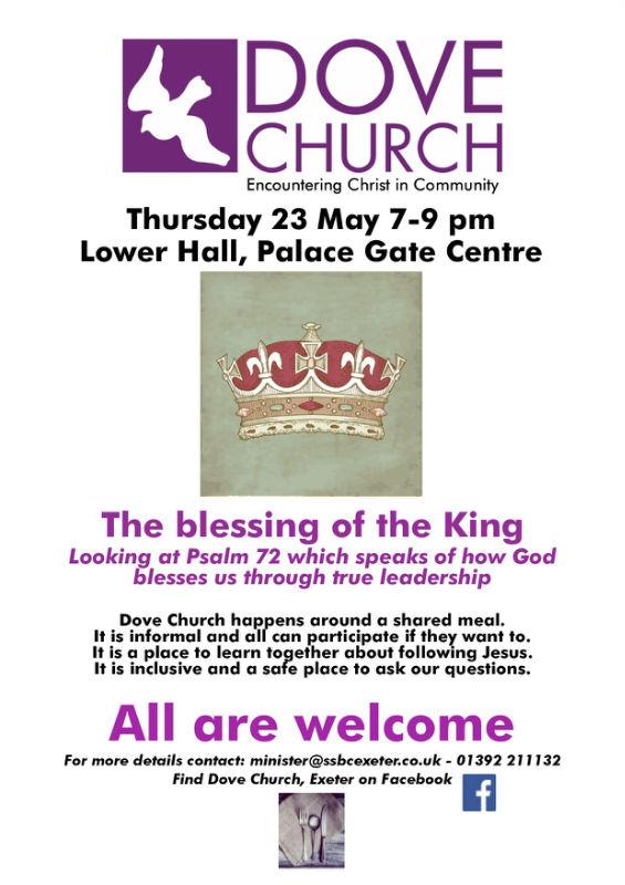 Dove Church Poster 23 May 2019