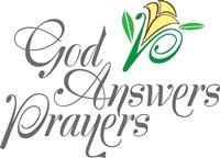 God answers prayers.