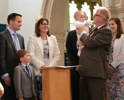 Baptismal Service at St Marys