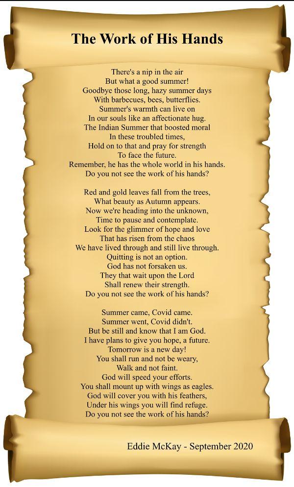 Eddie's sixth poem