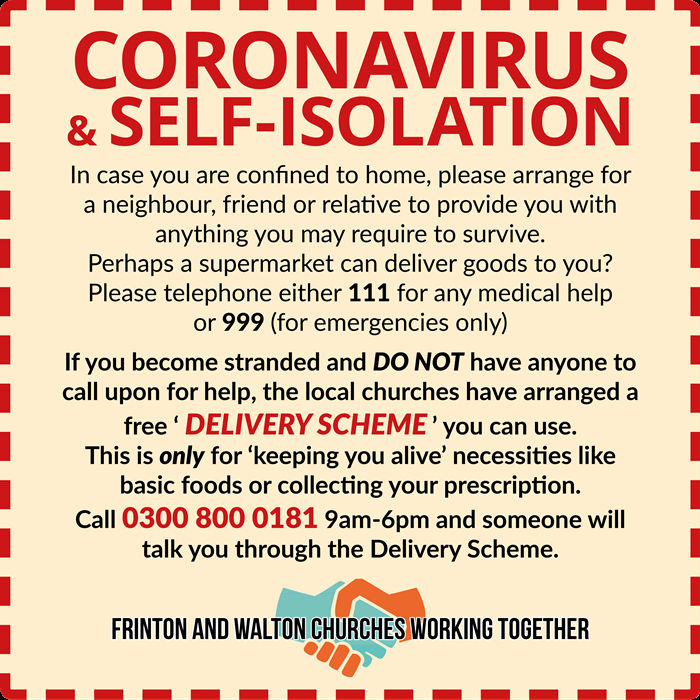 Coronavirus Helpline