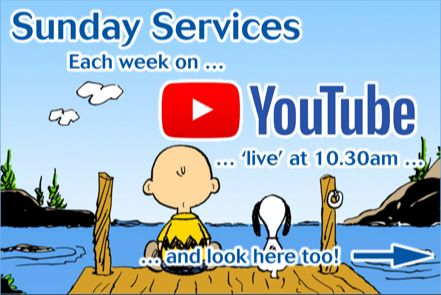 Click anywhere on this image to watch our YouTube videos, while our buildings are closed.