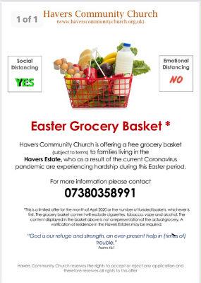 Easter Grocery Basket