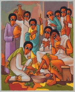 1 Do as I have done Jesus washes the disciples' feet Based on John 13.1-15