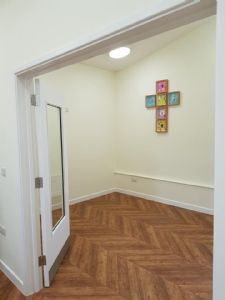 The small meeting room