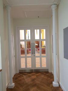 Through the entrance area