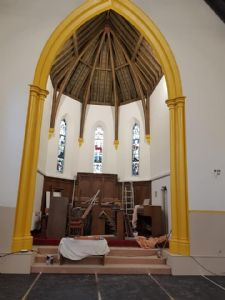 The Sanctuary after the paint work