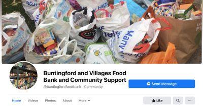 Buntingford Foodbank FB Link