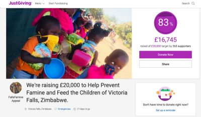 Famine Appeal PAge