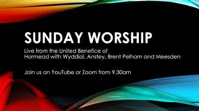 Link to Sunday Service on YouTube