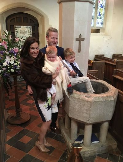 family after a baptism