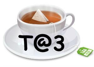 T@3 logo