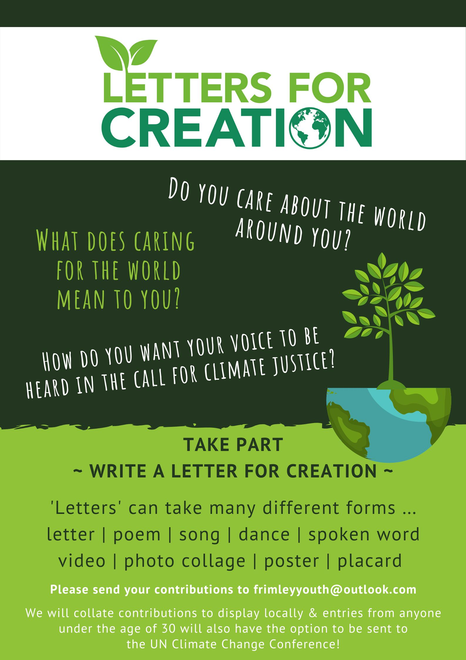 Letters For Creation